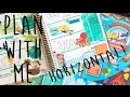 Plan with Me | Horizontal Aquatic Explorers Layout