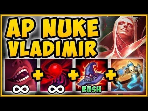 45% CDR VLADIMIR TOP + DEATHCAP RUSH = 100% OP! VLADIMIR SEASON 9 TOP GAMEPLAY! - League of Legends