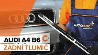 Audi A4 B6 Avant - seznam videí k opravě auta