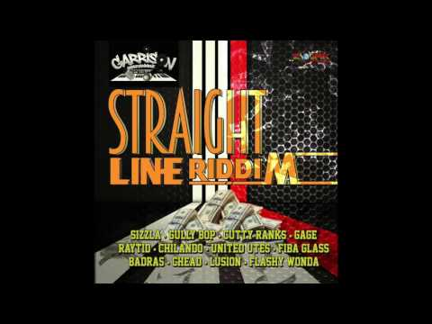 SIZZLA -TALK A THE TOWN [STRAIGHT LINE RIDDIM] PRODUCED BY GARRISON ENT JULY 2016