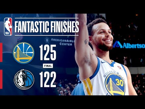The Warriors and Mavericks Engage in a Fantastic Finish | January 3, 2018