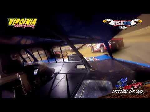 USA100 #7 Ross Robinson - Super Late Model - 6-16-18 Virginia Motor Speedway - In Car Camera