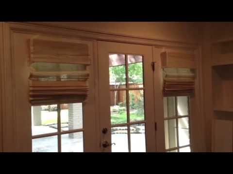 Motorized-Electric woven shades Fort Worth-Dallas-Denton Texas Avenue Window Fashions