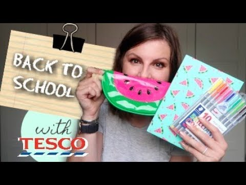 Back To School / With Tesco #AD