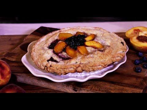How to Make Peach-A-Berry Pie