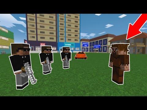 ZENGİN VE FAKİR'in ŞEHRİNE MAFYALAR GELDİ! 😱 - Minecraft