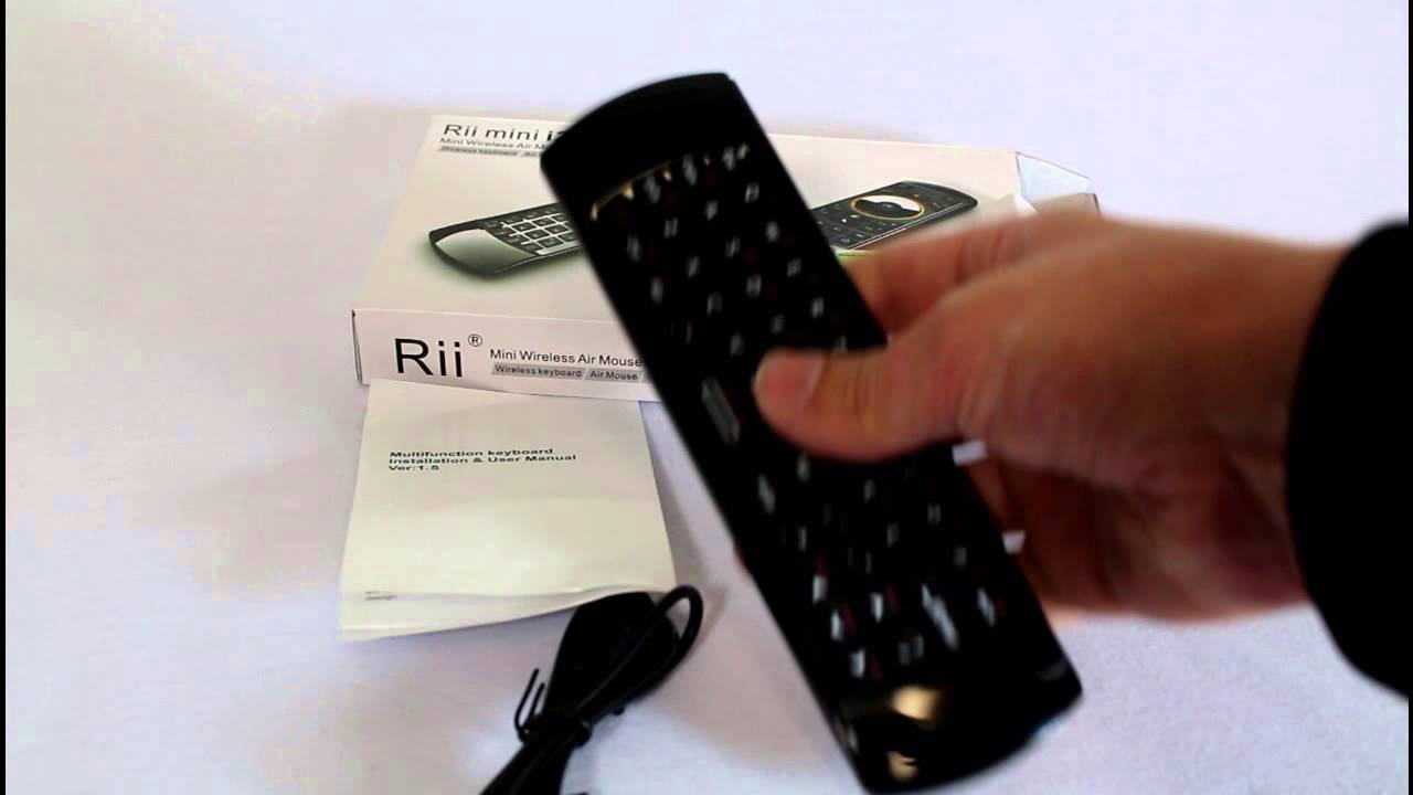 91c47e08301 Review: Rii Mini i25 Multifunction Mini Wireless 2.4GHz Air Mouse Keyboard