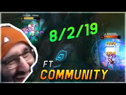 8/2/19 DÜMMSTES GAME ft. COMMUNITY | Stream Highlights - [League of Legends] thumbnail