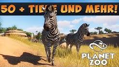 50+ Tiere und was wir sonst über Planet Zoo wissen!