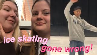 ICE SKATING  *GONE WRONG*