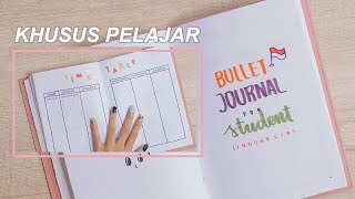 BULLET JOURNAL SETUP UNTUK STUDENT/PELAJAR