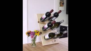 DIY Wine Rack Design
