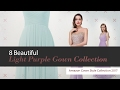 8 Beautiful Light Purple Gown Collection Amazon Gown Style Collection 2017