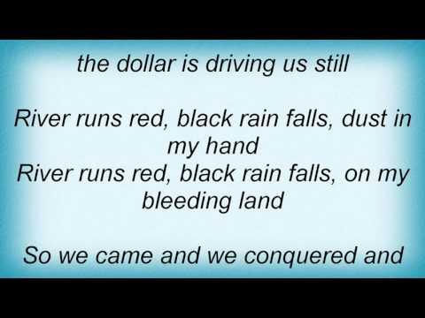 Midnight Oil - River Runs Red Lyrics