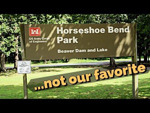 Horseshoe Bend Campground - Beaver Lake