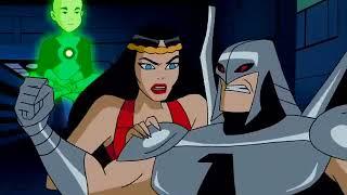 Batman Beyond Superman escapes