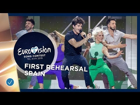 Spain 🇪🇸 - Miki - La Venda - First Rehearsal - Eurovision 2019
