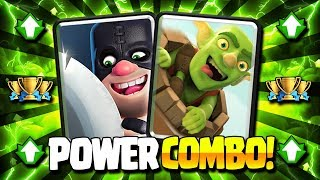 NEW OVERPOWERED BAIT COMBO COUNTERS ALL META!! EASY WINS! - Clash Royale