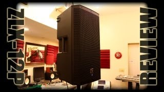 Electro Voice ZLX-12P, EV zlx12p Review by Kirk Rothrum for Disc Jockey News