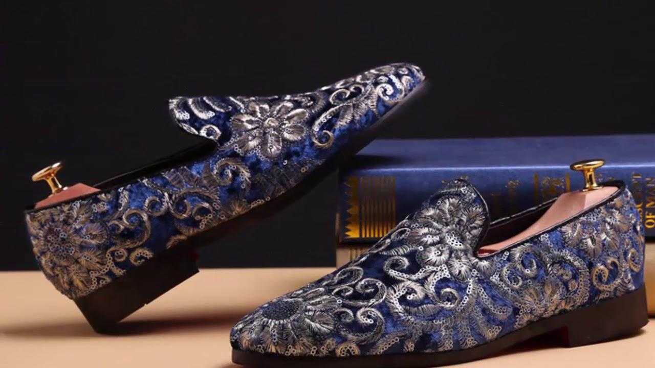 Chaussures homme de luxe tendances 2018