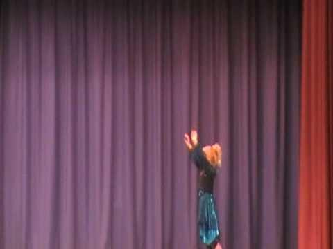 Jessica in the Tashua school variety show