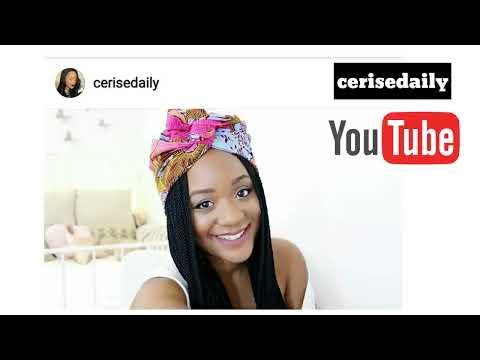 Top 20 des PLUS BELLES YOUTUBEUSE  AFRICAINES