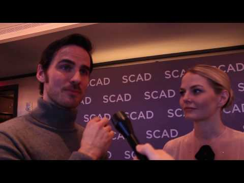 Once Upon A Time's Jennifer Morrison and Colin O'Donoghue - aTVfest 2017