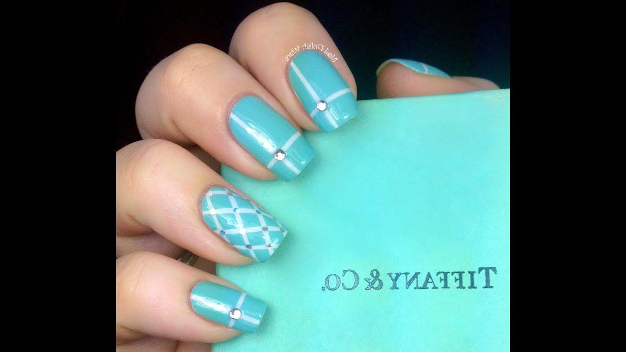 Tiffany Nail Art Design Time Lapse