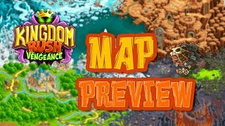 ⚔Vengeance Map Preview - Kingdom Rush VENGEANCE