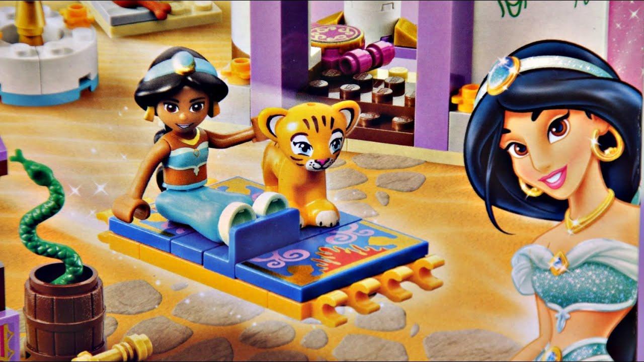 Jasmines Exotic Palace Egzotyczny Paac Jaminki Lego Disney 41060 Princess Sleeping Beautyamp039s Royal Bedroom 41061 Youtube