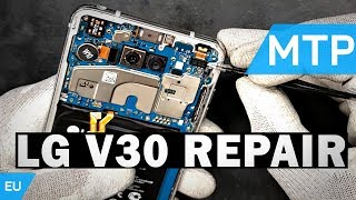 LG V30 LCD Replacement | Video Guide