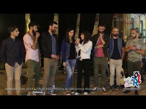 I figli dell'Officina  - Intervista Rol103 Radio Onda Libera - Staff di Nicosia
