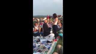 "Marine Proposes at ""Salute to Independence"" on July Fourth"