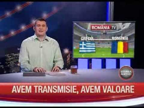 Meciul de baraj Grecia - Romania, vineri, la Romania TV
