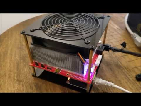 Baikal Cube 300MH/s Dash Miner - Unboxing And Setup