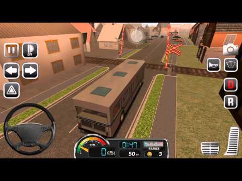 Прохождение игры bus simulator часть 1