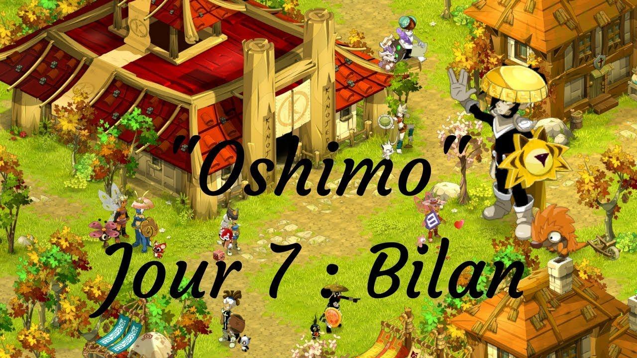 Dofus Touch L Bilan De Mon Rush Sur Oshimo Jour 7 By Fekah