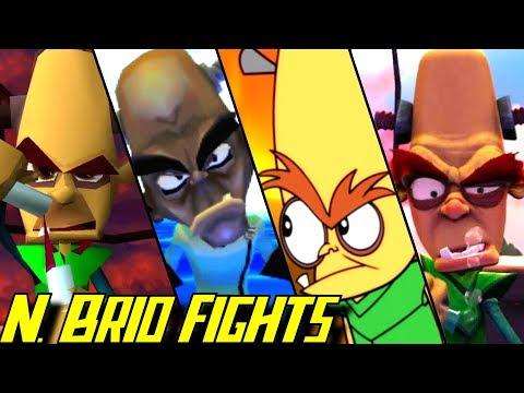 Evolution of Dr. N. Brio Battles in Crash Bandicoot Games (1996-2017)