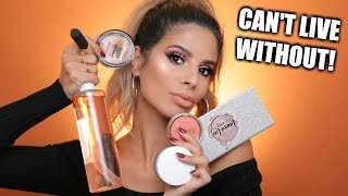MAKEUP I CAN'T LIVE WITH OUT | MUST HAVES!