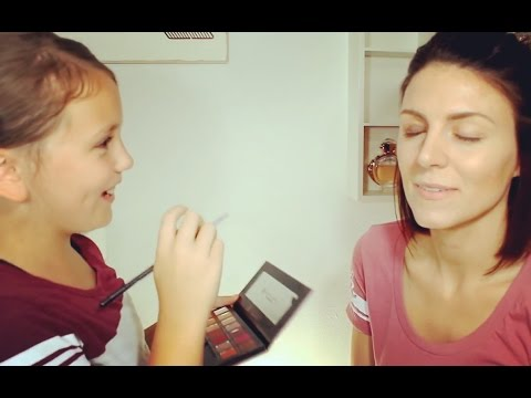 My Pre Teen Does My Makeup! | Brunette Beauty Blogger