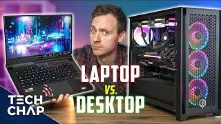 ゲーミングラップトップとデスクトップPC-どちらが2021年に最適か!?