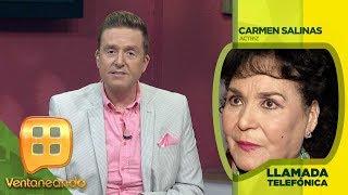 ¡QUÉ EMOCIÓN! Frida Sofía le respondió a Carmen Salinas su ofrecimiento de amor. | Ventaneando