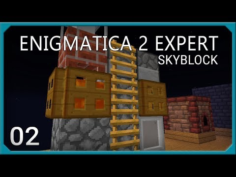 Enigmatica 2 Expert Skyblock EP2 Alchemical Fusion