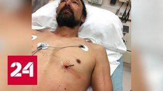 Американец выстрелил себе в сердце гвоздем