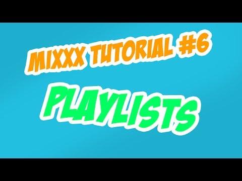 Mixxx Tutorial #6: Wiedergabelisten erstellen, bearbeiten & löschen