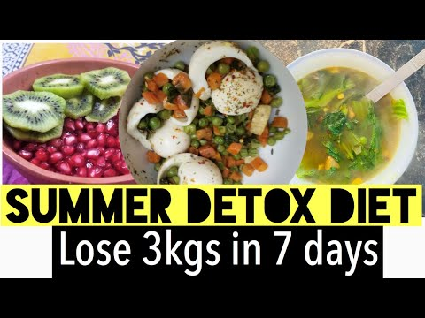 lose-3kgs-in-7-days- -summer-detox-diet-plan-for-weight-loss- -azra-khan-fitness