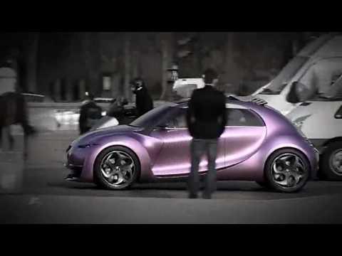 Citroen Revolte Concept Driven on the Champs Elysees