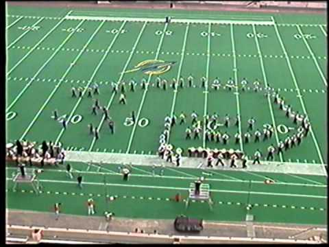 1999 Chesaning Union High School Marching Band BOA Class A Toledo Regional Performance