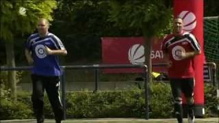Bushido und Fler bei Oliver Pocher.. Sportfreunde Pocher. Teil 1