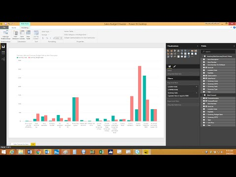 Sales Forecast Reporting with Power BI and Dynamics GP